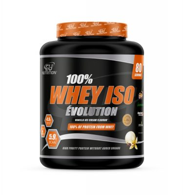 100% Whey Isolate Évolution