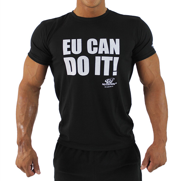 "T-Shirt Black ""EU Can Do It"""