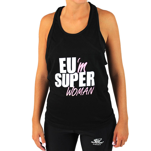 "Top Girl ""EU Super Woman"" black"