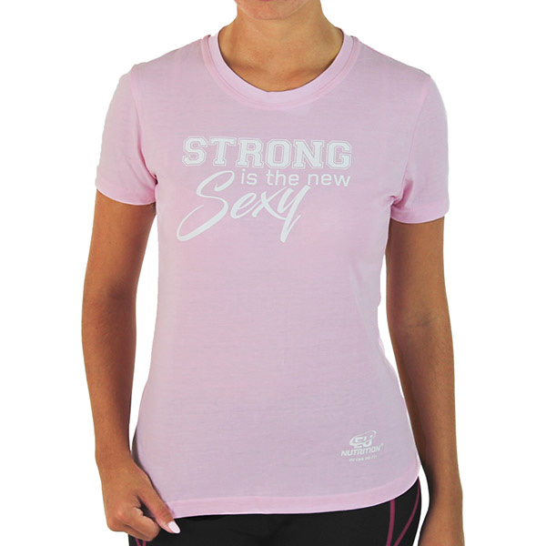 "Girl T-Shirt ""Strong is the new sexy"""