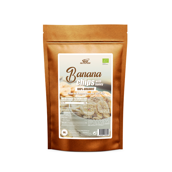 Banana-Chips-with-honey-100%-Organic-50g
