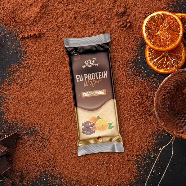 EU PROTEIN WAFER chocolate laranja