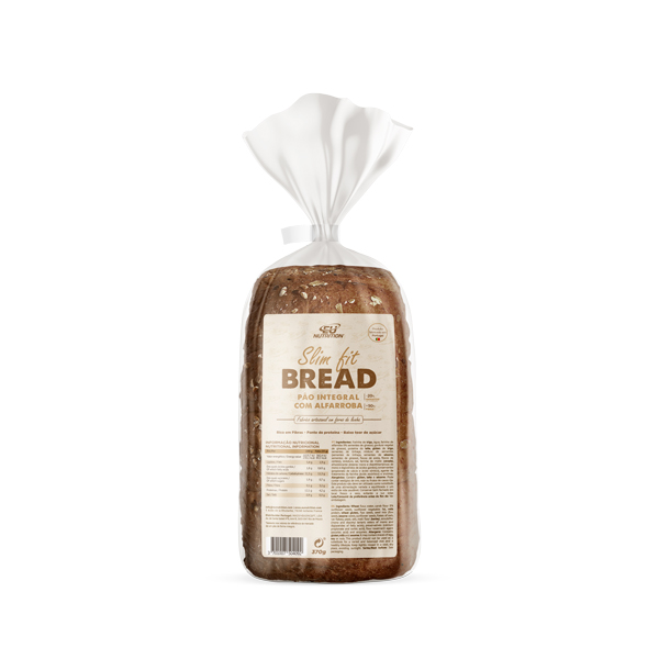 Slim Fit Bread | Pão Integral com Alfarroba