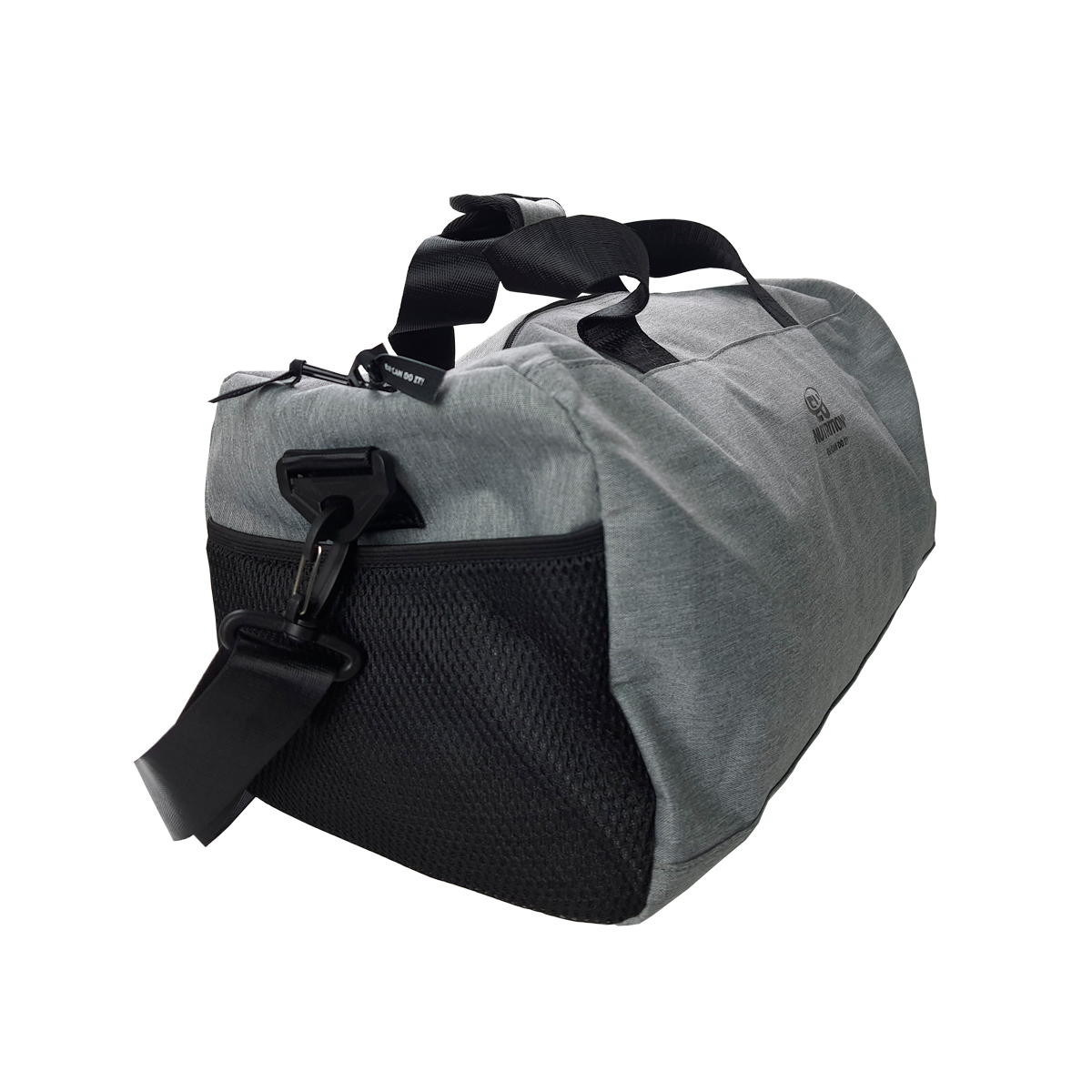 Bolsa Gimnasio FASHION – GRAY AND BLACK